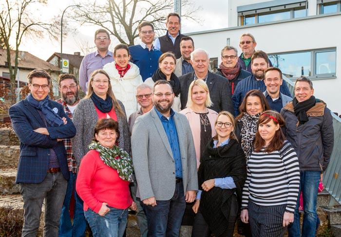 Die Kandidaten der BI für Bürgermeisteramt und Gemeinderat in Bischberg